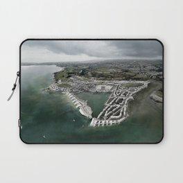 Flood Resilient Townscape - Par Docks Laptop Sleeve