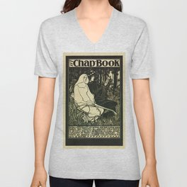The Chap Book 1895 Unisex V-Neck