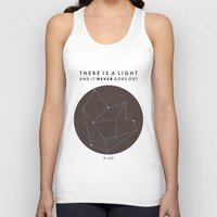 nan lawson Tank Tops featuring There Is A Light by Nan Lawson