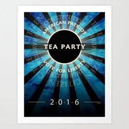 Tea Party 2016 Art Print