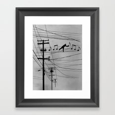 High Notes Framed Art Print