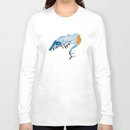 Flautrequina on Fire Long Sleeve T-shirt