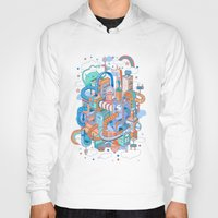 kpop Hoodies featuring George's place by Polkip