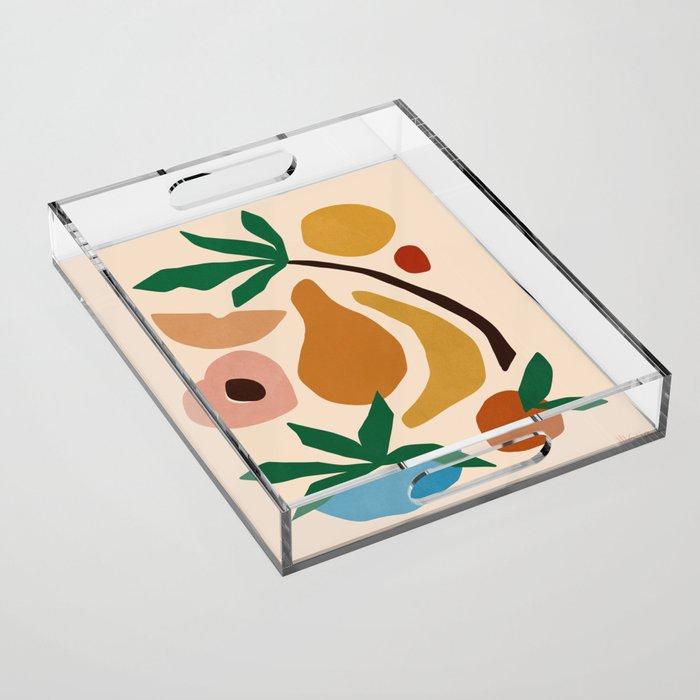 Fruit salad Acrylic Tray
