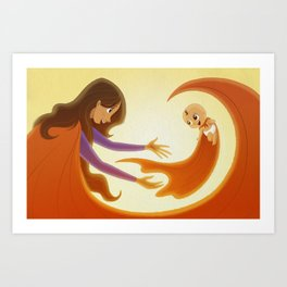 Supermom! Art Print