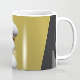 Eggs on yellow sheet Coffee Mug