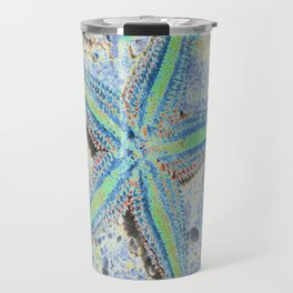 Starfish Abstract Travel Mug