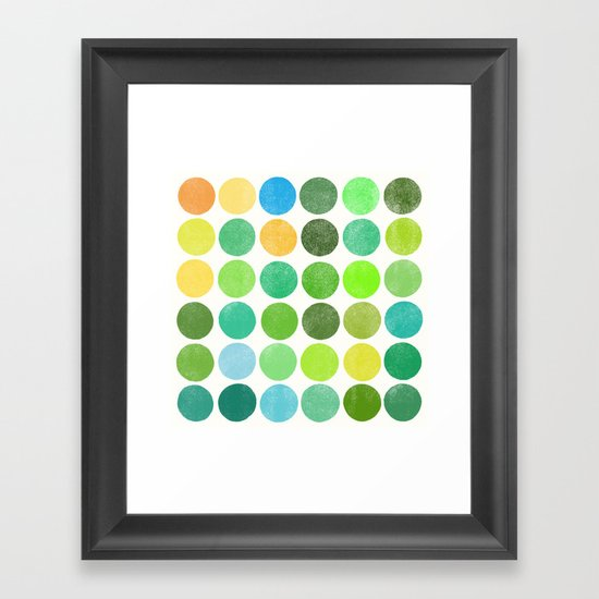 colorplay 11 Framed Art Print