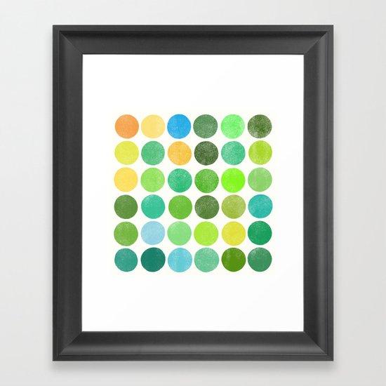 colorplay 11 Framed Art Print