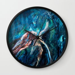 Joy and Sorrow Wall Clock