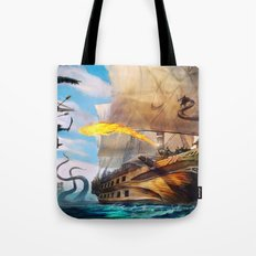 Dead Seas cover art Tote Bag