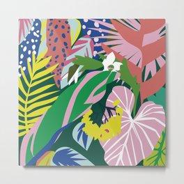 Lush Jungle Metal Print