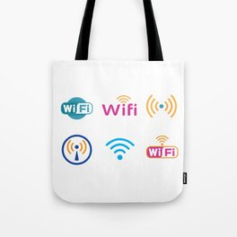 Wifi Logo Tote Bag