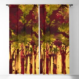 Song Of The Trees 9j by Kathy Morton Stanion Blackout Curtain
