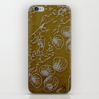shells iPhone & iPod Skins featuring Shells by ANoelleJay