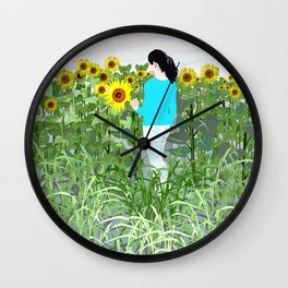 when i found you Wall Clock