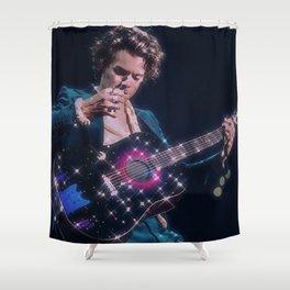 blue suit Shower Curtain