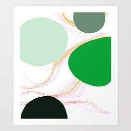 Sun and moon : nature's capillary #12 Art Print