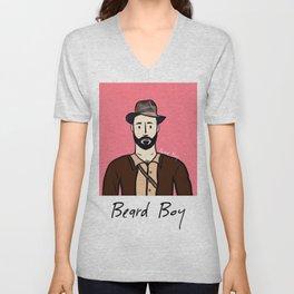 Beard Boy: Alessandro Unisex V-Neck