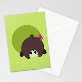 Panda Bear Butt Stationery Cards
