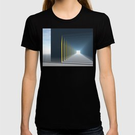 Linear Perspective of Light T-shirt