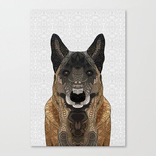 Malinois - Belgian Shepherd Canvas Print
