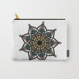 Detailed mandala: colored Carry-All Pouch