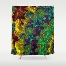 Colors of Celebration Shower Curtain