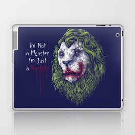 i'm not a monster i'm just a predators Laptop & iPad Skin