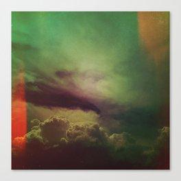 rising clouds Canvas Print