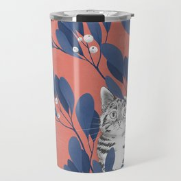 in the wild // repeat pattern Travel Mug
