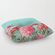 Fab Floral Floor Pillow