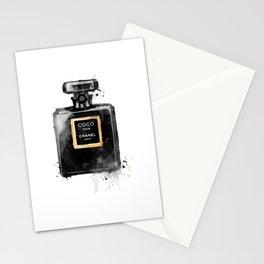 Perfume bottle fashion Stationery Cards