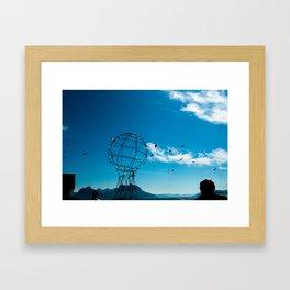 Norway view Framed Art Print