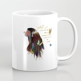 Watercolor Girl Coffee Mug
