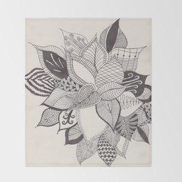 zenTANGLE Plant Throw Blanket
