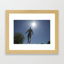 Elevate Framed Art Print