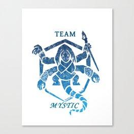 Team Mystic -Dark Crystal Canvas Print
