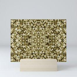 3105 Mosaic pattern #3 Mini Art Print