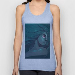Blue is the warmest colour Unisex Tank Top
