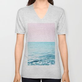Blissful Ocean Dream #1 #wall #decor #art #society6 Unisex V-Neck