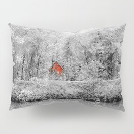 Red Shack Photography Pillow Sham
