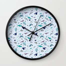 Ocean Animals Wall Clock