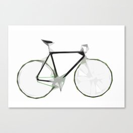 Deconstructed Fixie Canvas Print