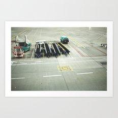 pre flight Art Print