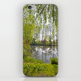 Spring Water Garden at Giverny iPhone Skin