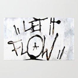 Let it Flow  Rug