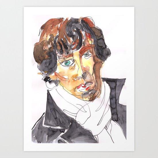 Geek Hero Art Print