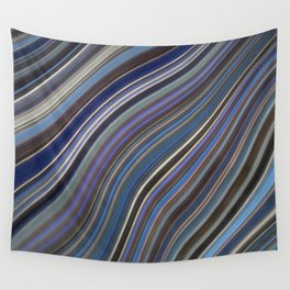 Mild Wavy Lines IV Wall Tapestry