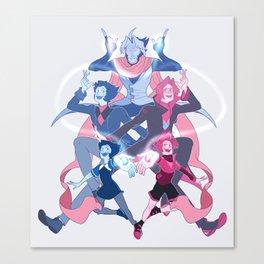 Fusion - Chalcedony Canvas Print